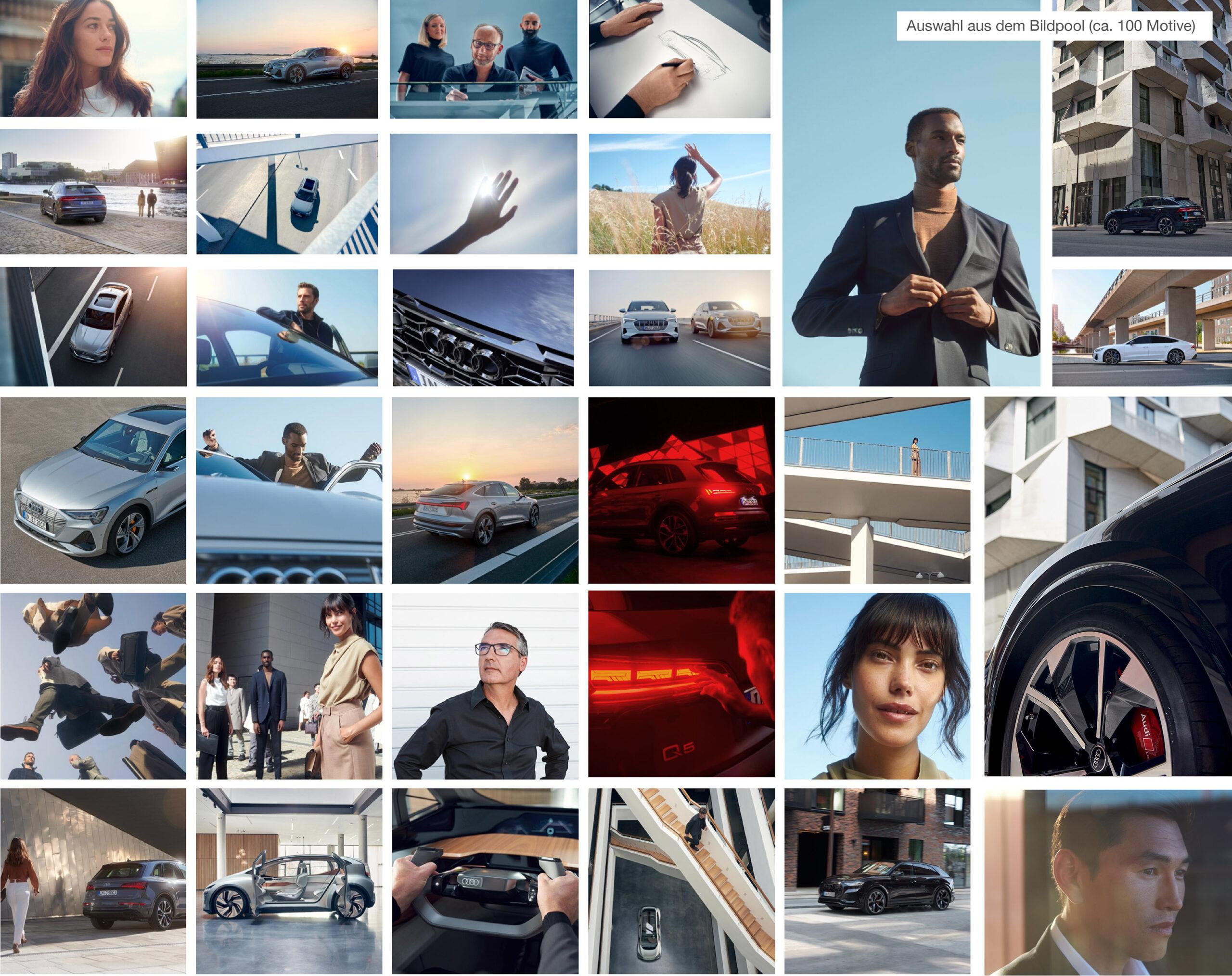 Audi Website Bilderpool